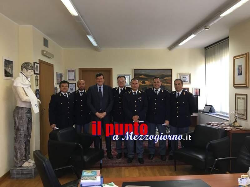 Partita Benevento- Frosinone, il Questore di Frosinone, Filippo  Santarelli, esprime compiacimento nei confronti dei poliziotti