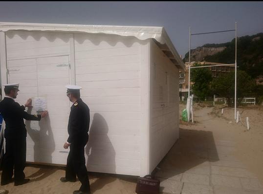 Guardia Costiera di Gaeta: Abusiva occupazione di pubblico demanio marittimo