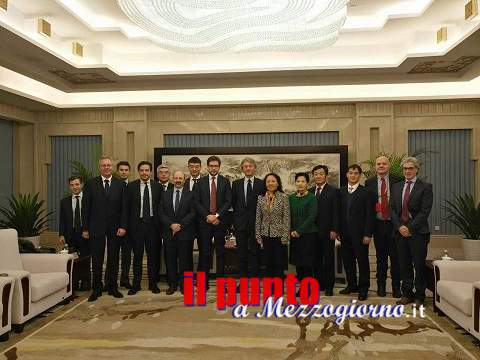 Accordo quadro tra l'Università di Cassino e del Lazio Meridionale e l'Università di Chongqing (Cina)