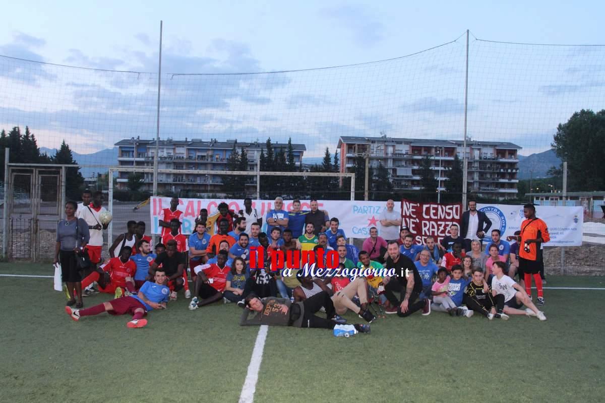 Cassino – Una triangolare di calcio multiculturale per dire no al razzismo