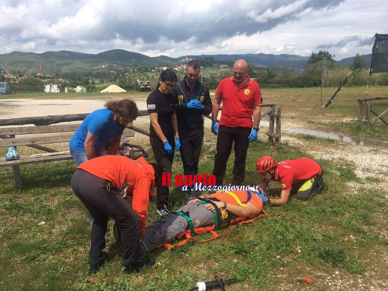 Medici del Soccorso Alpino a confronto a Vicovaro: momento di alta formazione
