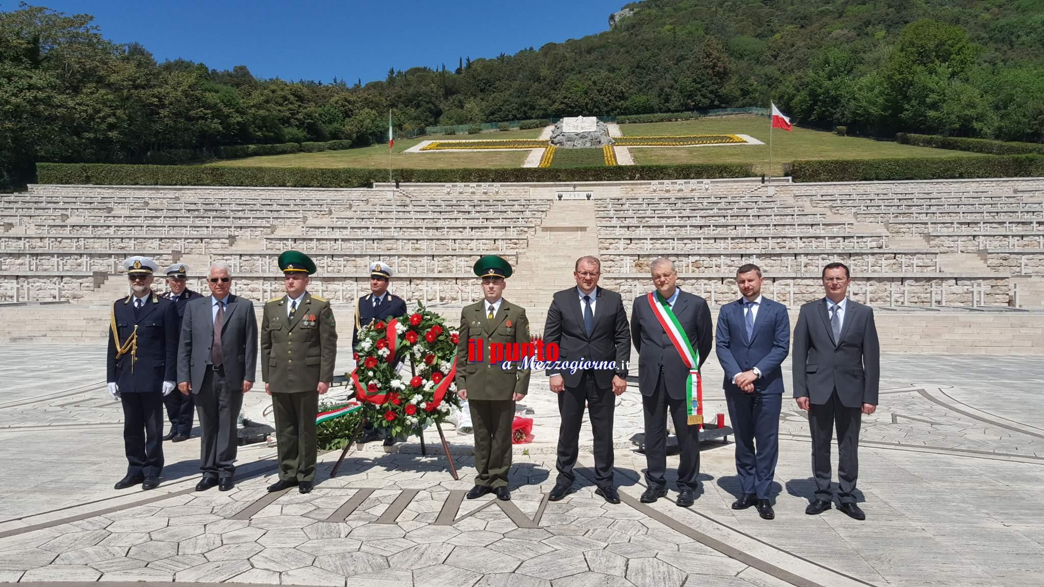 L'ambasciatore della Bielorussia in visita a Cassino incontro con il sindaco D'Alessandro