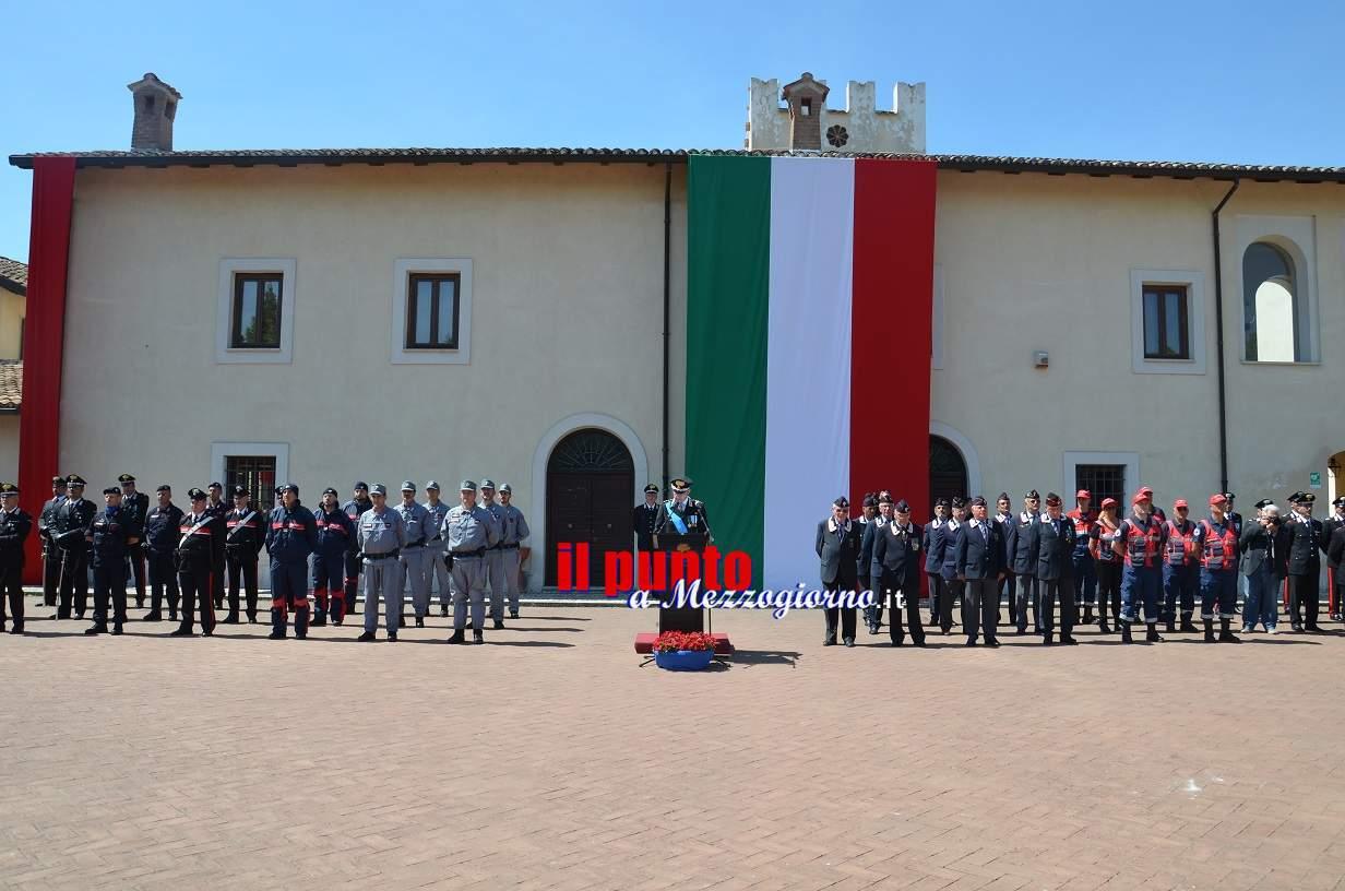 203° anniversario della Fondazione dell'Arma dei Carabinieri.Consegna degli encomi. Tutti i nomi della provincia di Frosinone