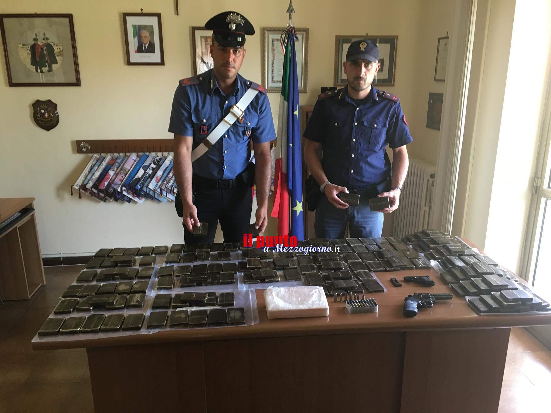 """Operazione congiunta di polizia e carabinieri, in manette il """"corriere della droga"""""""