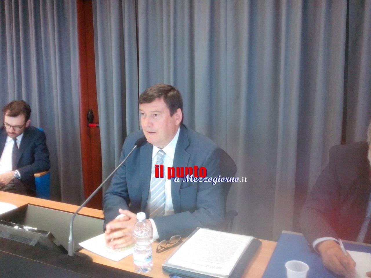 """Cassino- Sicurezza negli Stadi. Profili giuridico – amministrativi: stadi di proprietà"""", organizzato dalla Polizia di Stato con l'UNICLAM"""