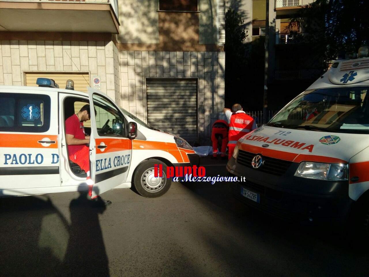 Cassino: Tragedia, studente cade dal 5° piano e muore