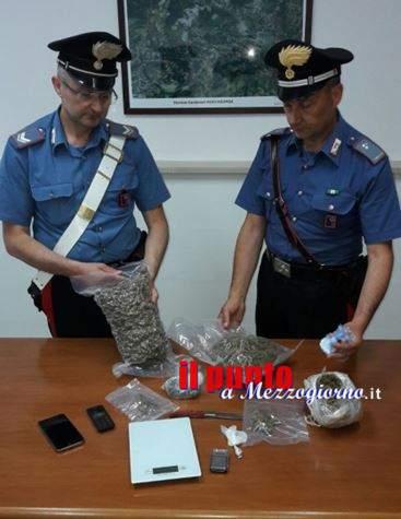 Sorpreso con due chili di droga, 49enne di Alatri arrestato nel pontino