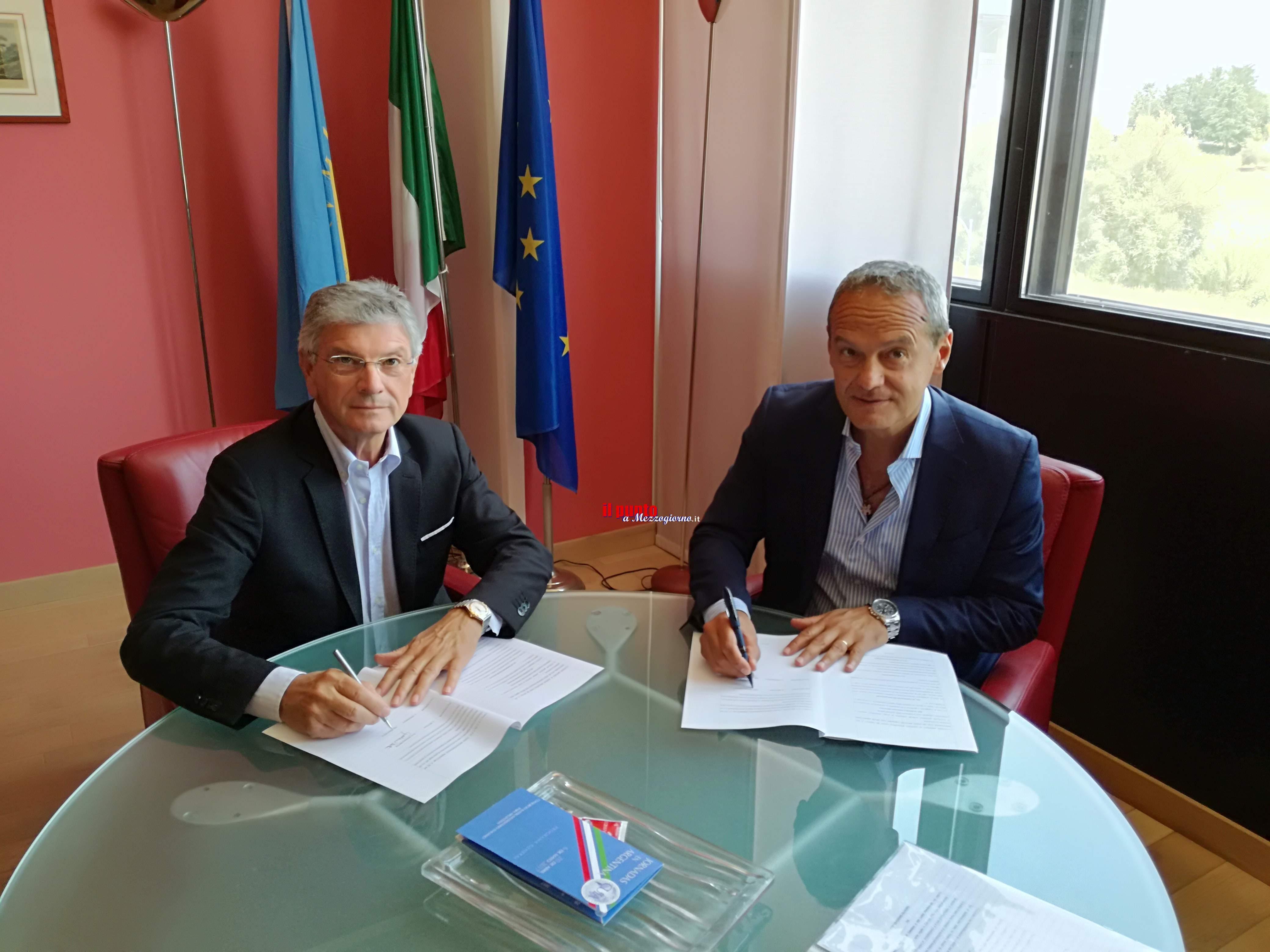 Cosilam e Università degli studi di Cassino e del Lazio meridionale: siglata convenzione