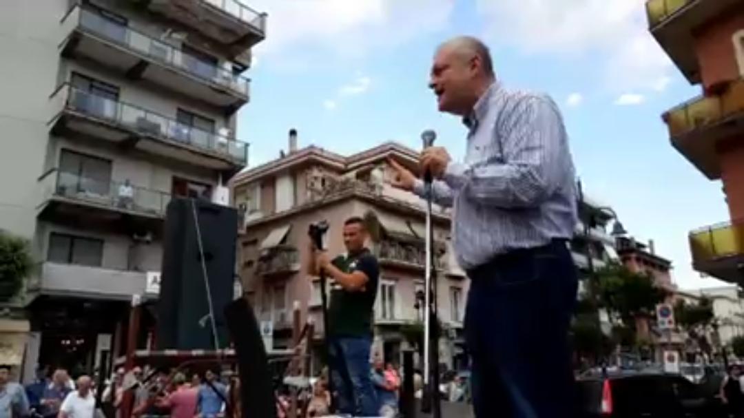 Cassino: Caso Acea, il sindaco in piazza per parlare ai cittadini