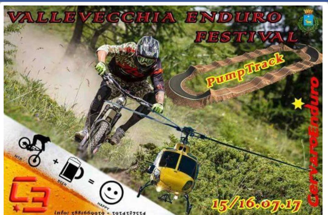 Cervaro: Vallevecchia Enduro Festival, appuntamento da non perdere