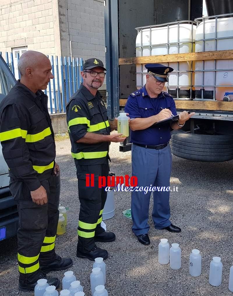 Cassino, nei serbatoi di vigili del fuoco di Roma 29mila litri carburante confiscato da Stradale