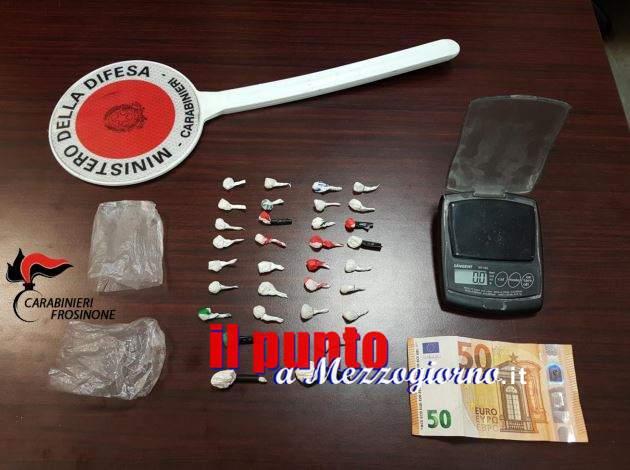 Frosinone, Sorpreso con le dosi di cocaina. Arrestato 35enne
