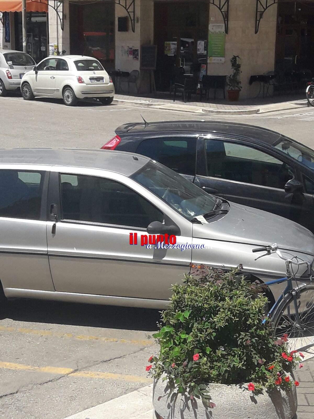 Parcheggia su stalli della Municipale, multato sindaco di Cassino