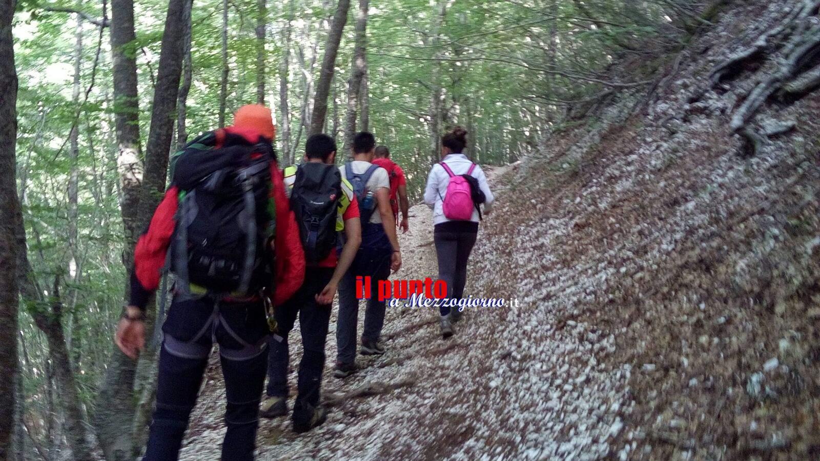 Coppia di giovani escursionisti dispersi a Pescosolido, soccorsi dal CNSAS del Lazio
