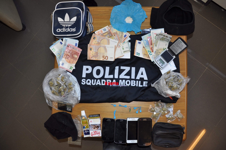 Cittadini costretti a convivere con lo spaccio, altri quattro arresti a Frosinone