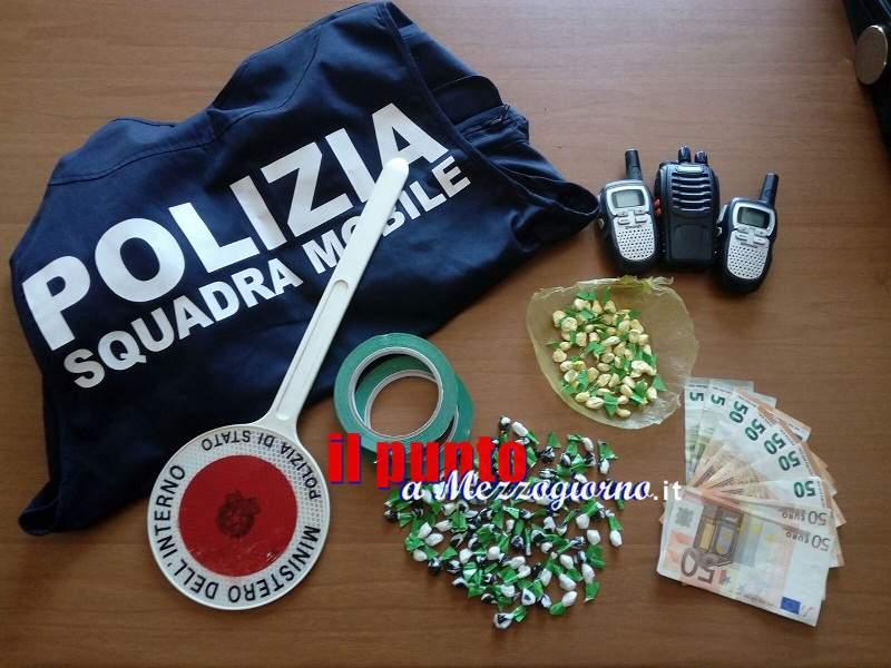 Frosinone: Spaccio di droga, in manette una donna di 60anni che aveva 137 dosi di cocaina in un mobile di casa e nel condizionatore