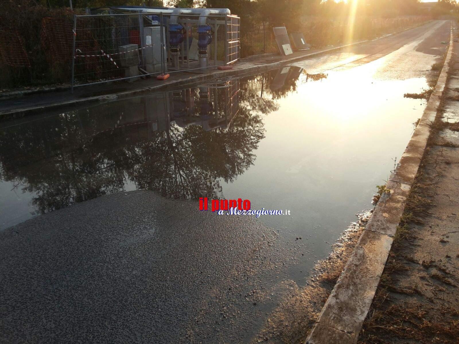 Cassino: Zona Cerro, ancora miasmi. Disagi e proteste dei residenti