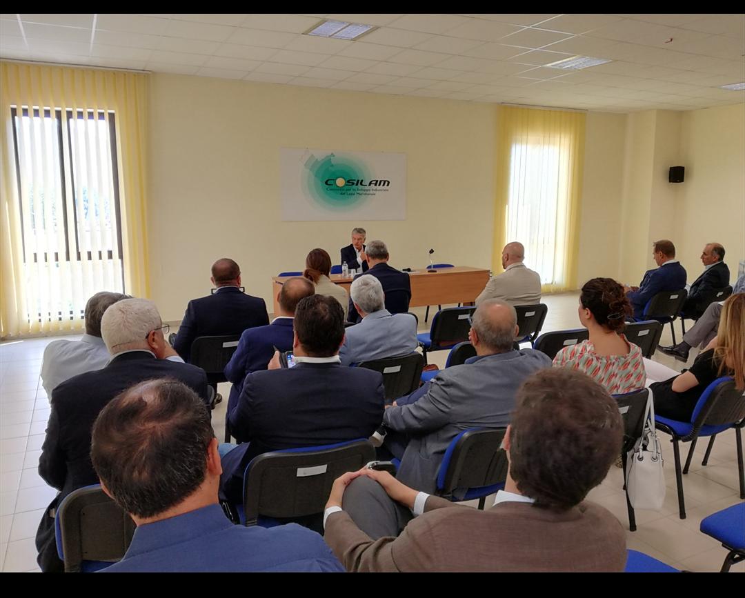 Cosilam, a breve comitato tecnico-scientifico per l'elaborazione del Progetto Apea
