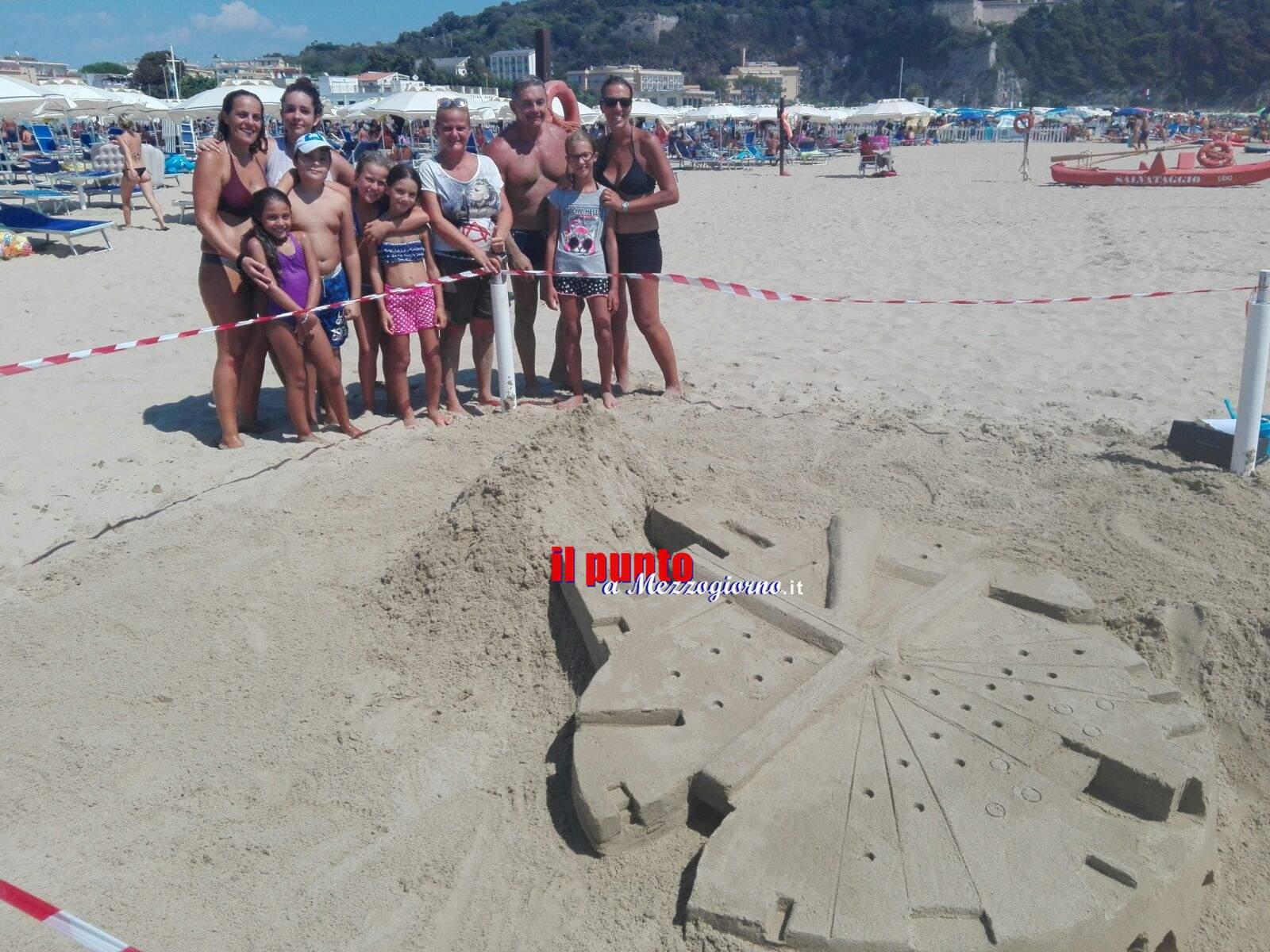 "Gaeta: Gara di Castelli di Sabbia …"" E la sabbia diventa"""