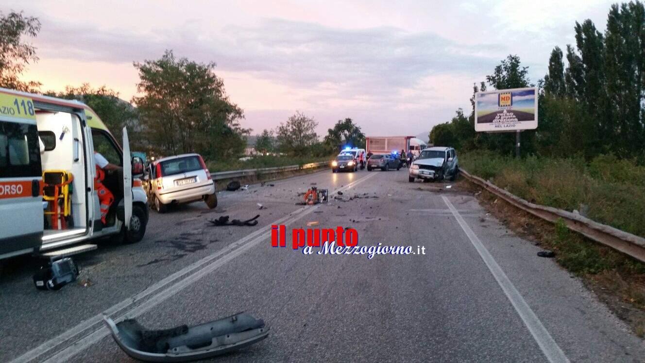 Tragico incidente stradale a Cassino, muore donna di 51 anni