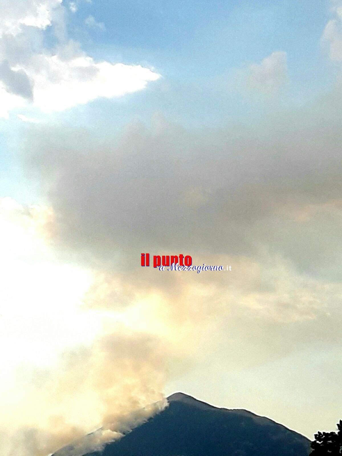 """Incendio Monte Cairo. Ciacciarelli """"Fondamentale presidio territori. Monitoraggio a Polizia Provinciale e Protezione Civile"""