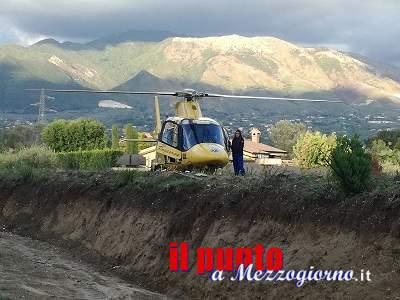Grave incidente frontale in via Appia, ferito più grave elitrasportato nella Capitale