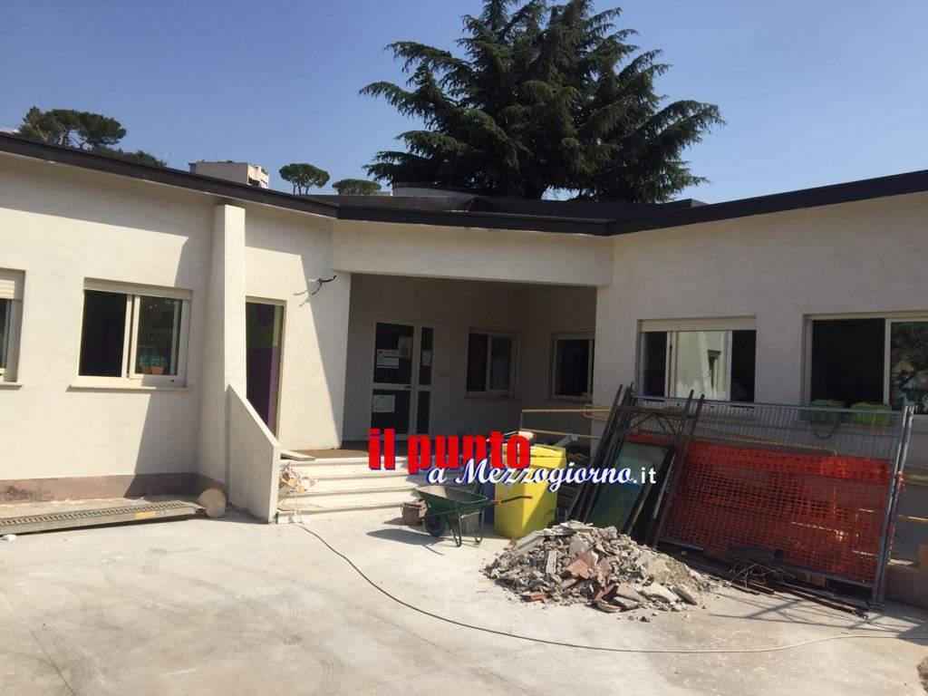 Gaeta: Scuola Giovanni Paolo II, lavori in dirittura di arrivo