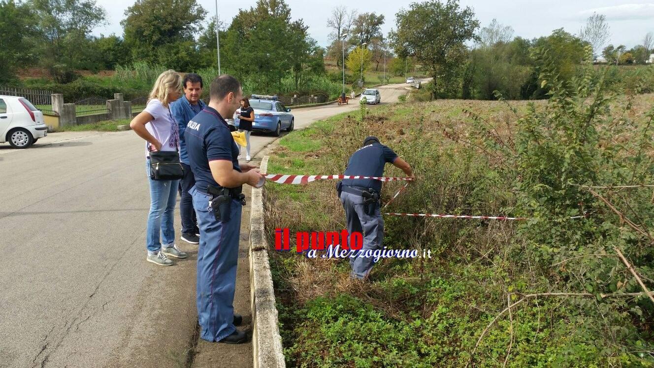 Cassino: Rinvenuto in zona Solfegna un ordigno bellico