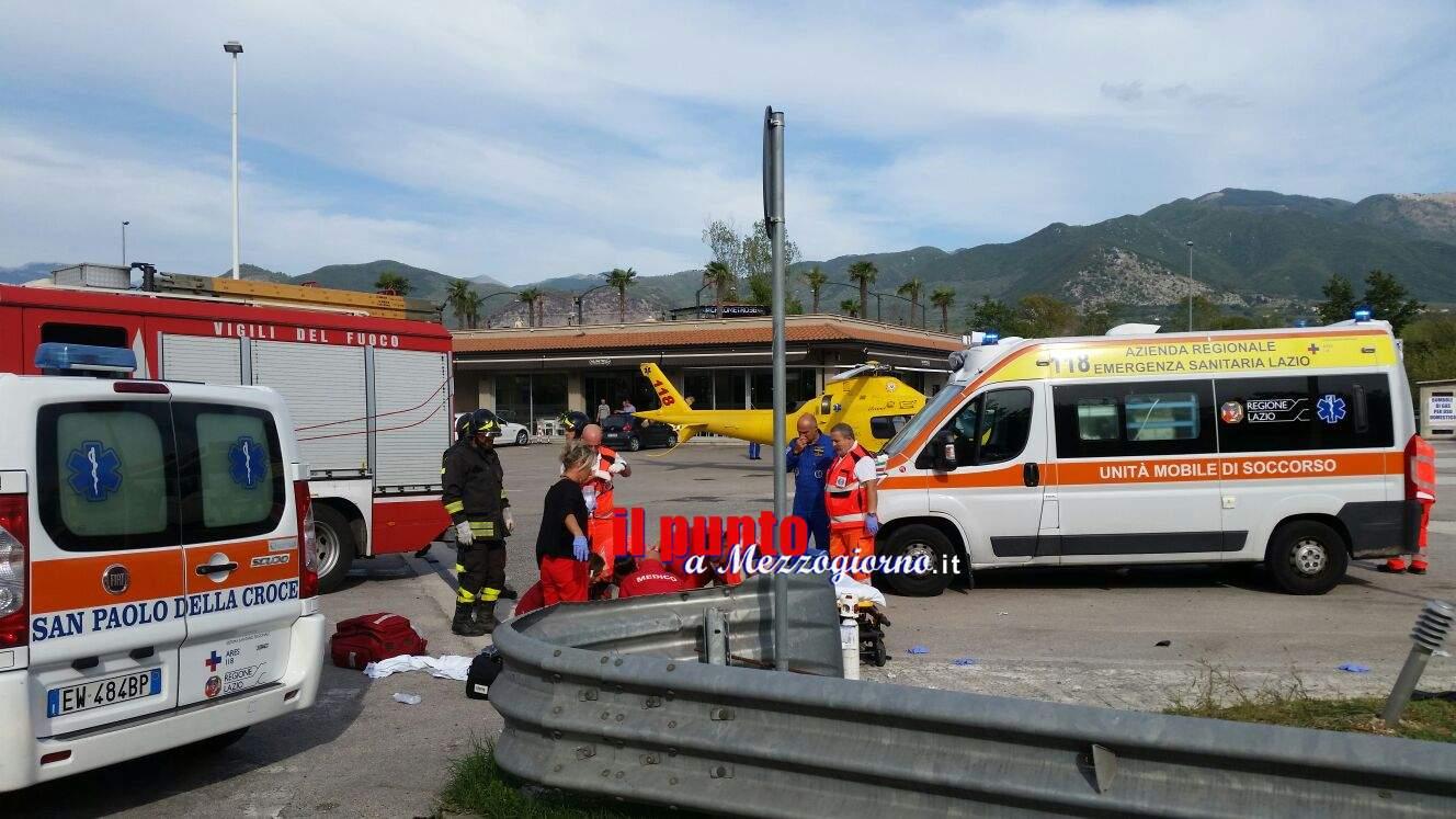 Sant'Elia Fiumerapido: Incidente stradale sulla Ss 509. Due persone ferite