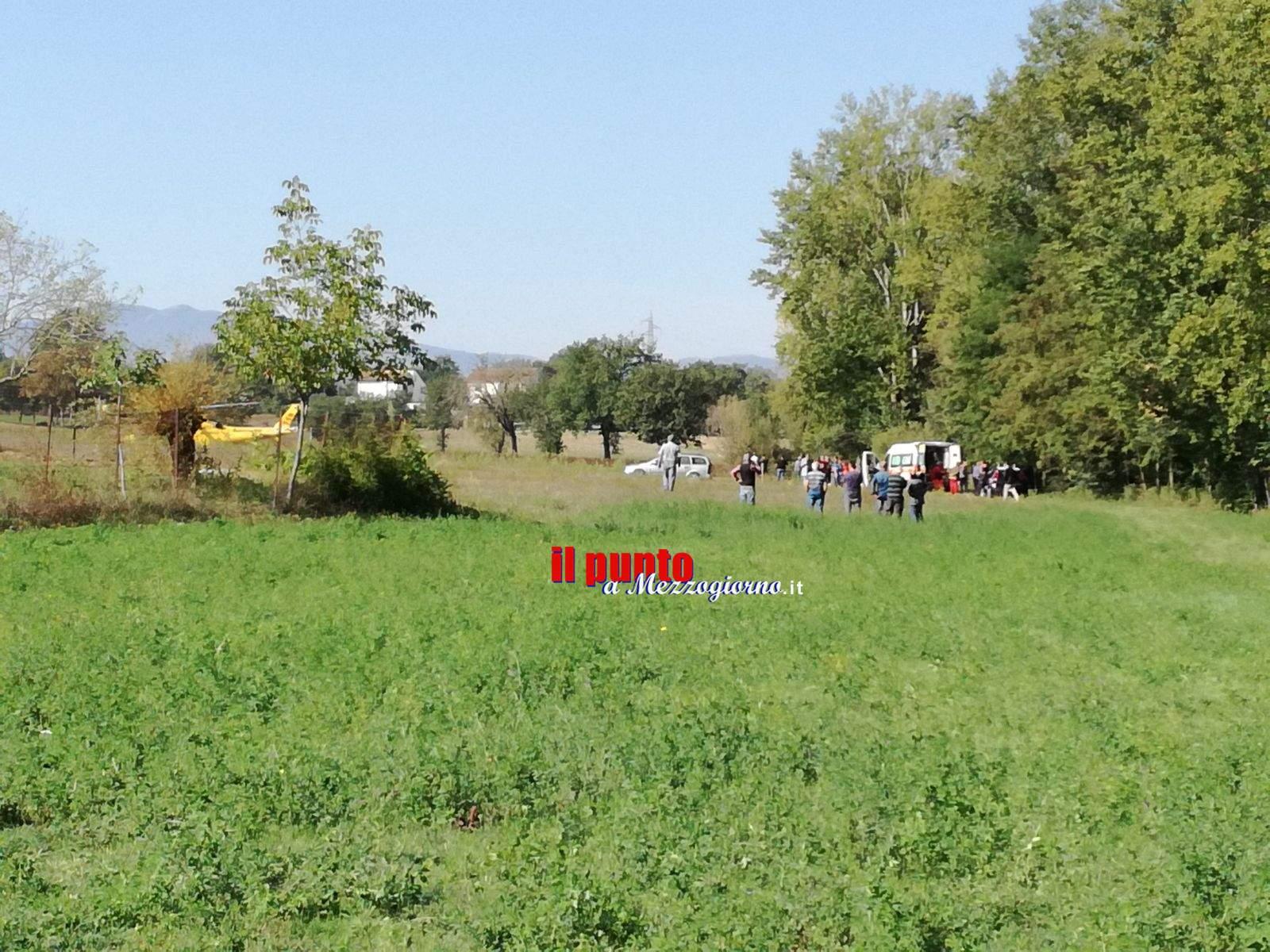 Pignataro Interamna: Anziano muore mentre provava il trattore