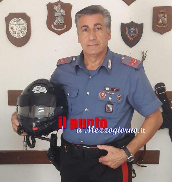 Carabiniere nell'anima, Renato Di Cicco scende dalla  Radiomobile