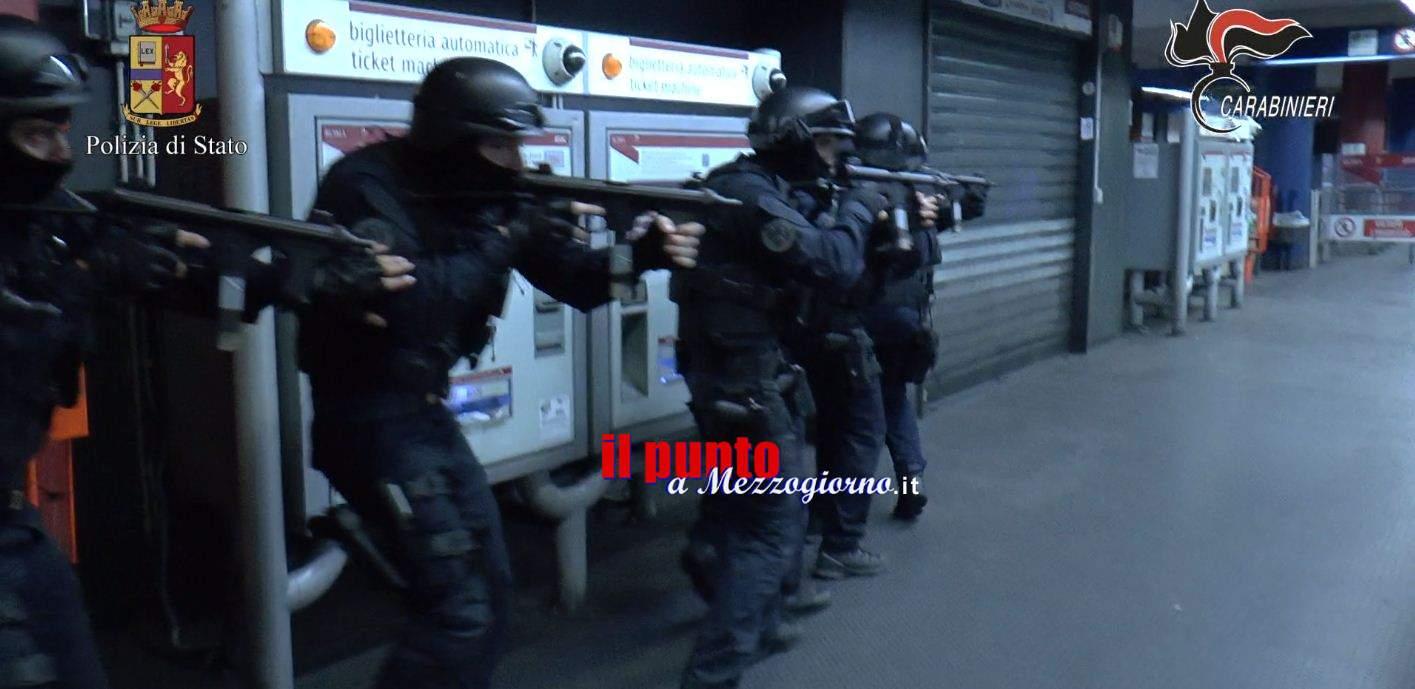Terrorismo, esercitazioni congiunte di Polizia e Carabinieri in stazioni e porti