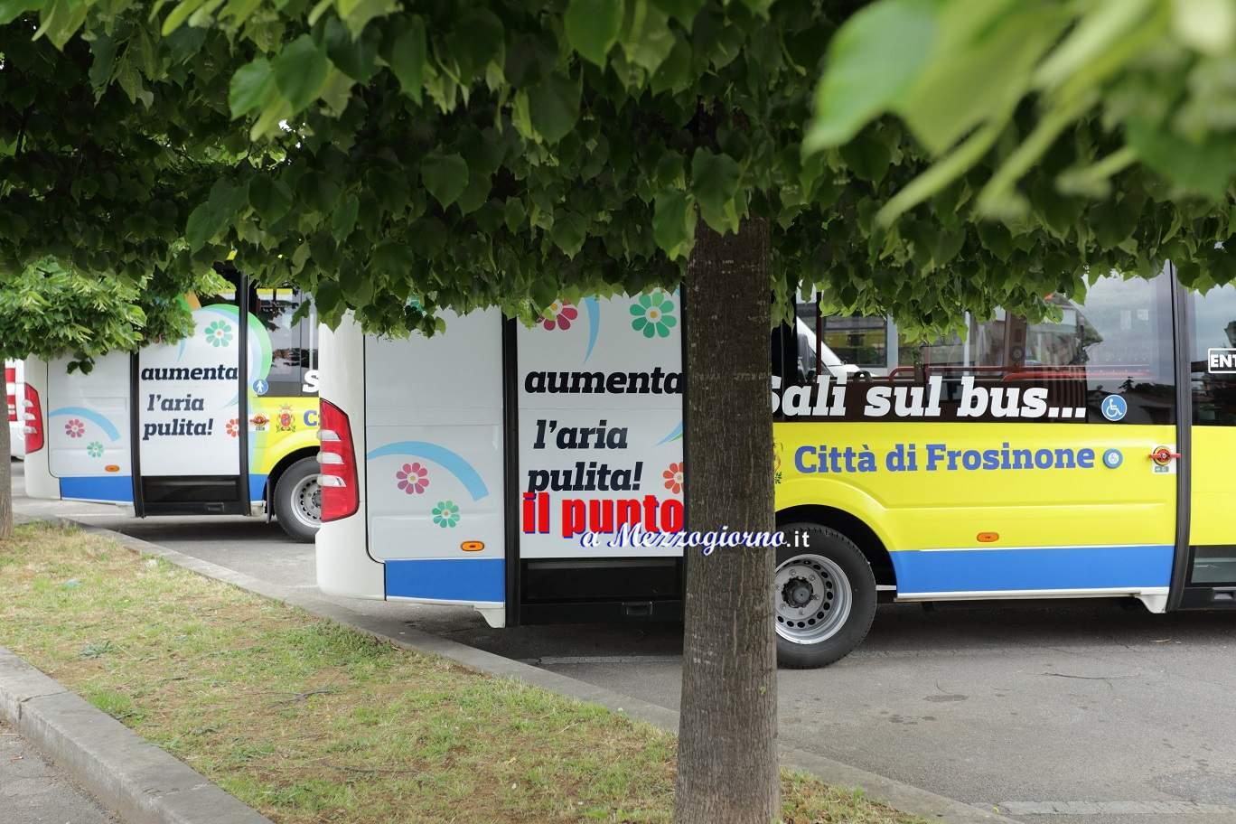 Frosinone, novità per il trasporto pubblico. Da lunedì 11 settembre arriva il nuovo orario