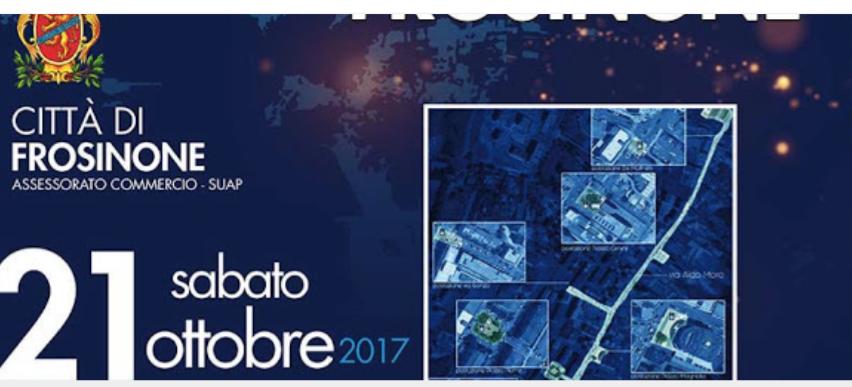 Frosinone, Notte Bianca: orari e mezzi disponibili