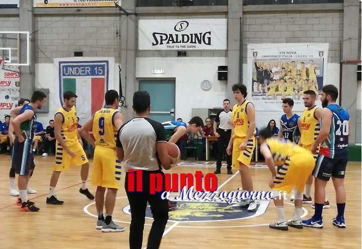 Basket C Gold: Sconfitta esterna per la NB Sora 2000