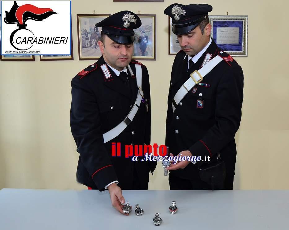 La trattativa di vendita del Rolex che finì in rapina, i tre arrestati a Pontecorvo – FOTO