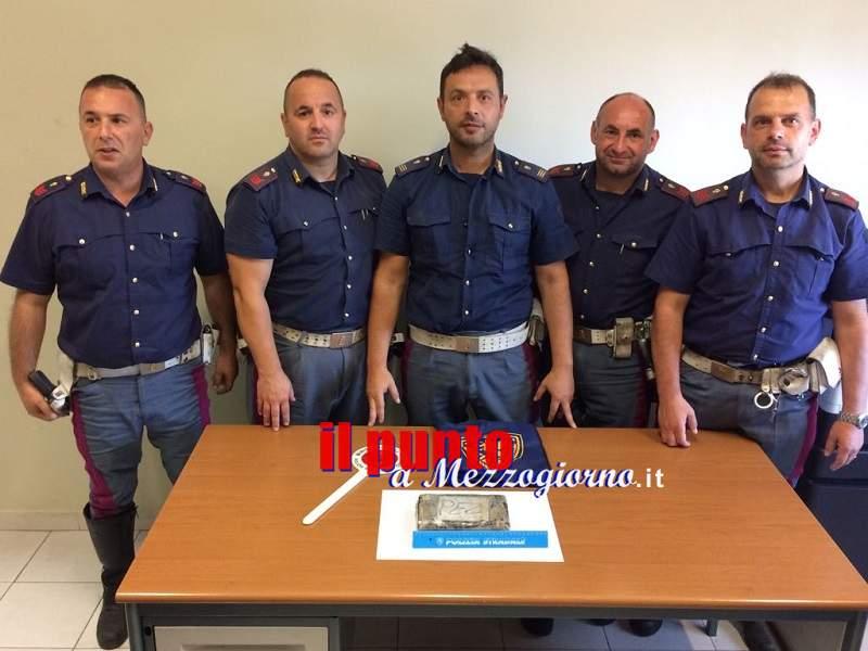 Appuntamento di lavoro a Cassino con un carico di cocaina, arrestato 42enne