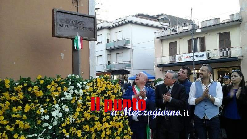 In via Aldo Moro, una piazza ricorderà il senatore Dante Schietroma