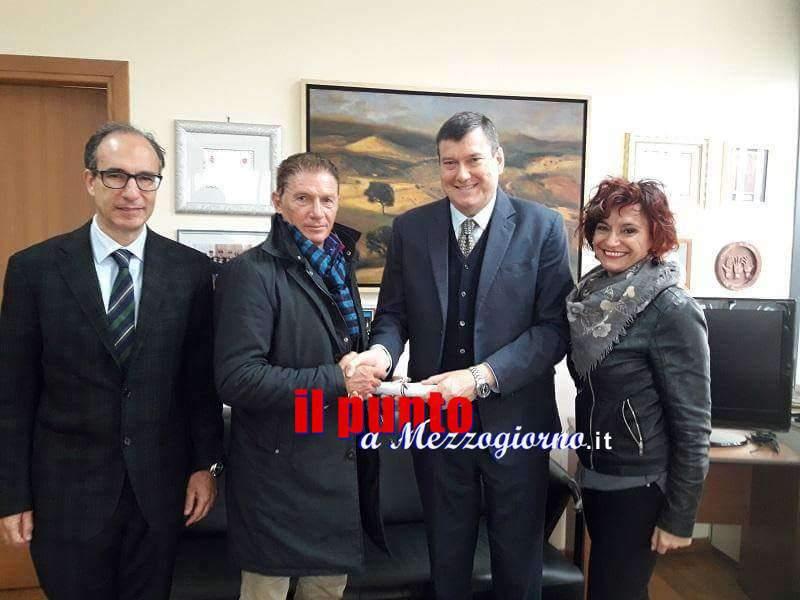 Frosinone: Polizia di Stato,  Conferito il titolo ufficiale onorifico a Mino De Santis