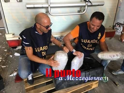 """Operazione antidroga """"Smoke snake"""" della Guarda di finanza di Caserta, arrestate 26 persone"""