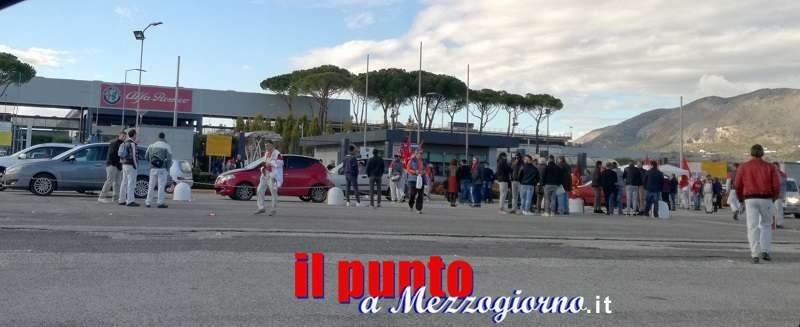 Nulla di fatto al tavolo regionale per i 532 lavoratori dello stabilimento Alfa Romeo di Piedimonte