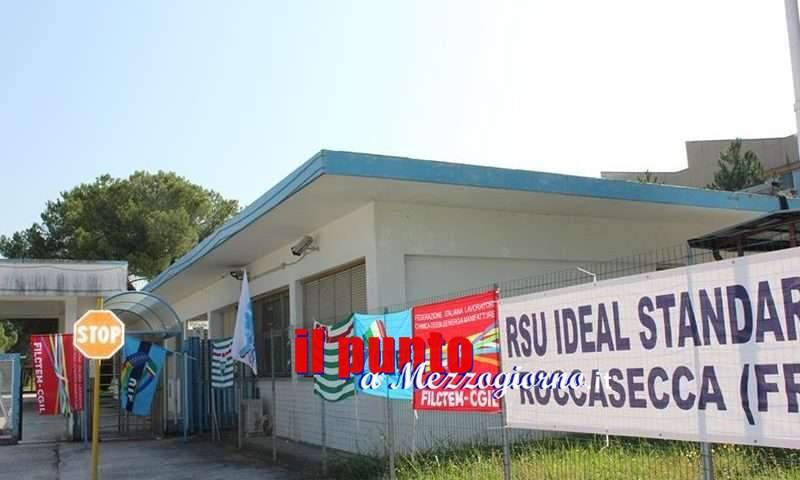 Ideal Standard: accordo raggiunto con la Saxa Gres, riassorbirà i trecentoventi lavoratori