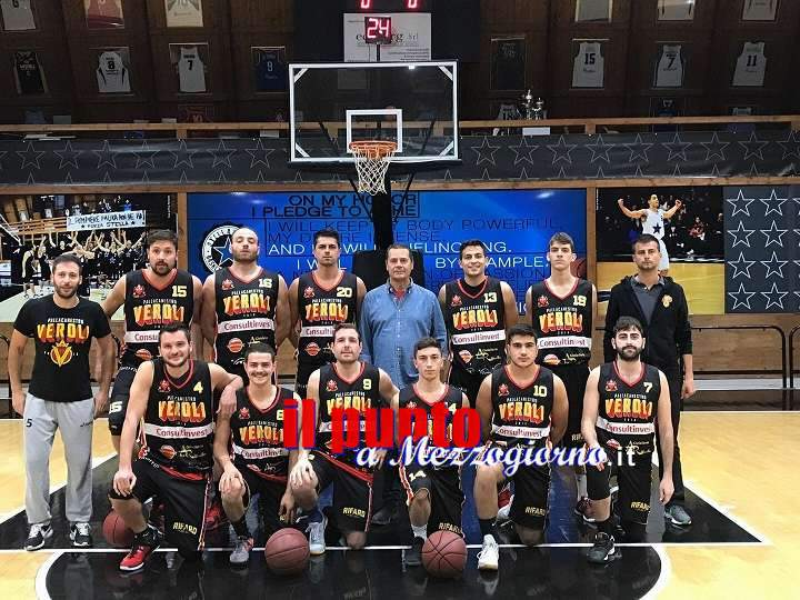 Basket  Serie C Silver: Scontro diretto con la Fortitudo Roma,ancora un successo per Veroli
