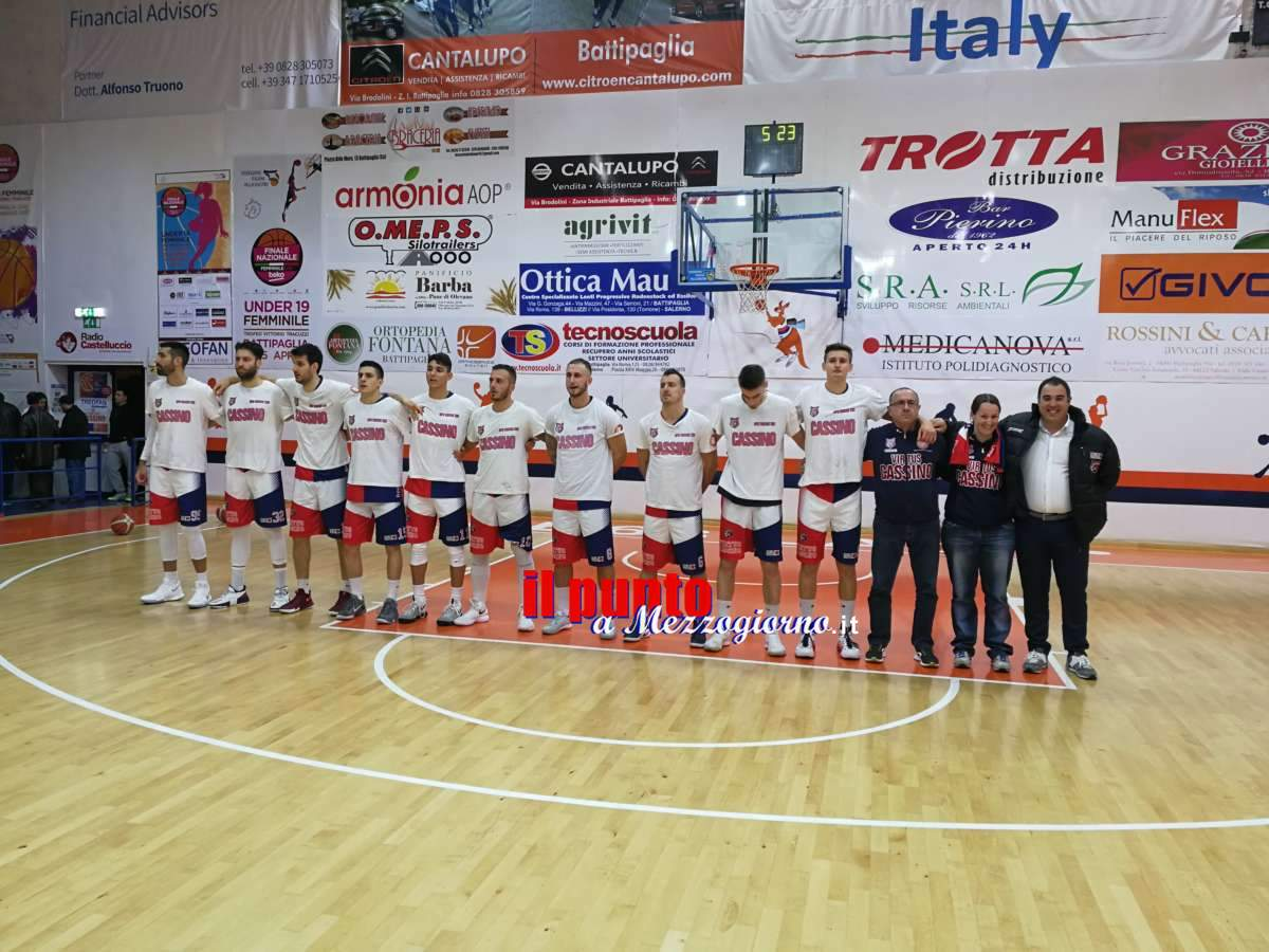 La Virtus Cassino supera Isernia nell'ultima di Regular Season, ora playoff