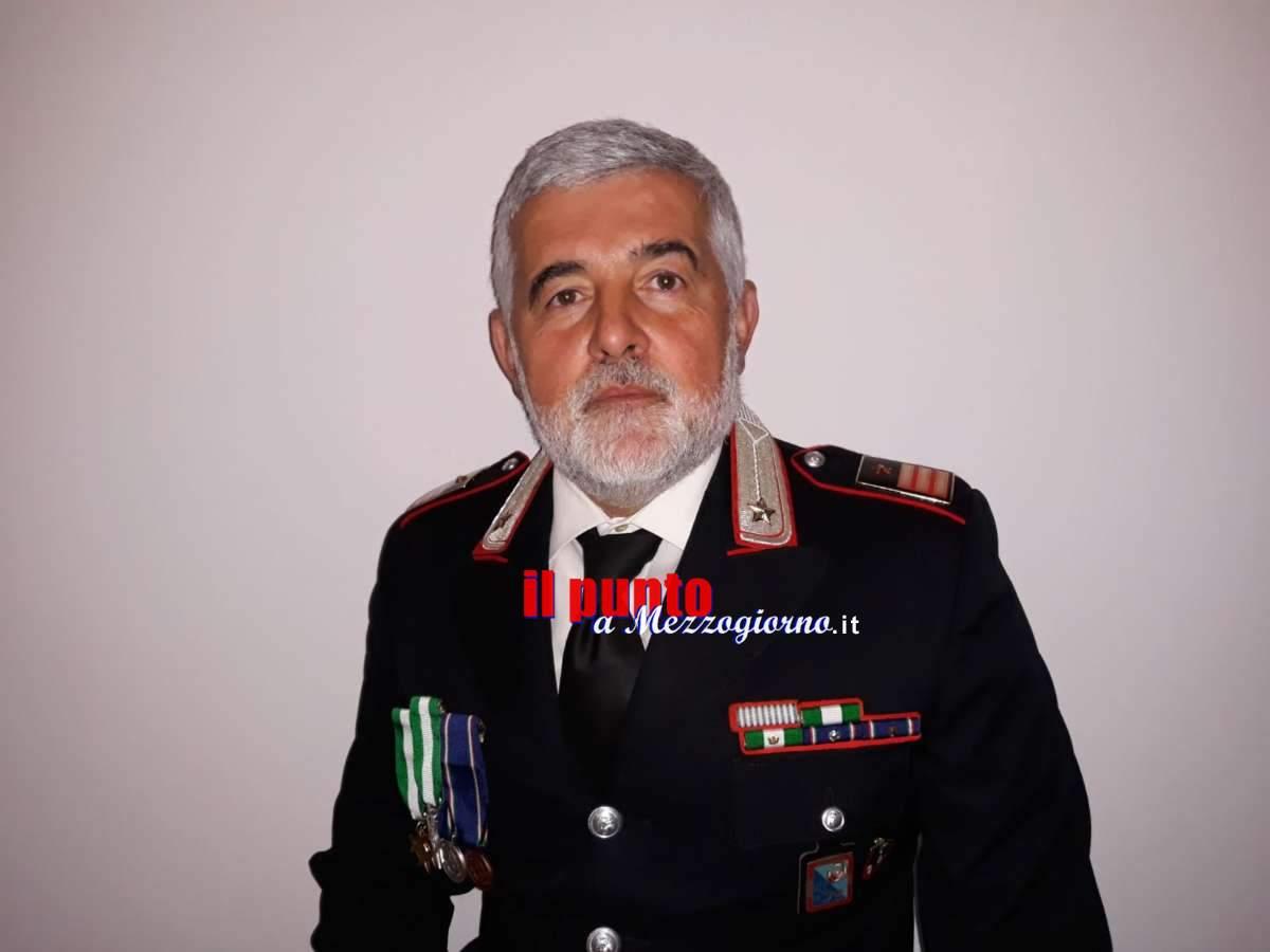 Pontecorvo, il luogotenente Patrizio Vellucci va in pensione