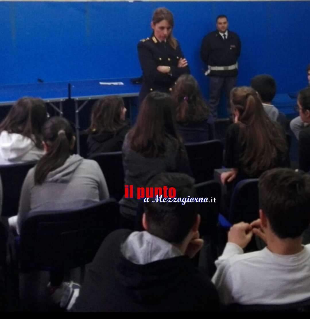 Bullismo e cyberbullismo:  incontro dibattito con la Polizia di Stato a Pontecorvo