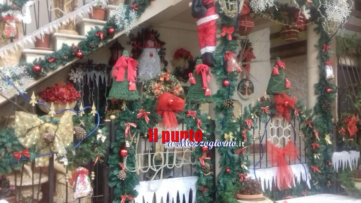 La casa del Natale dei Pallucci incanta anche quest'anno
