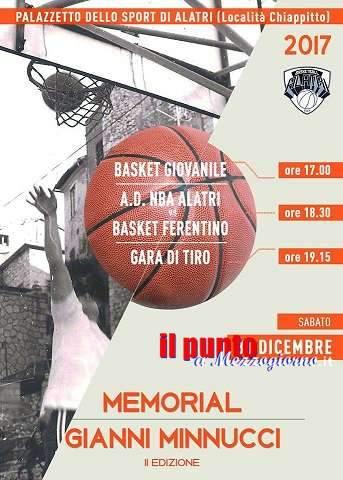 """""""II Memorial Gianni Minnucci"""" giornata di sport per ricordare il coach scomparso"""