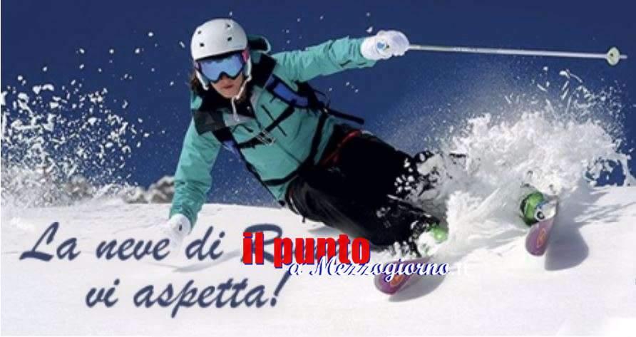 La neve abbonda a Campo Staffi di Filettino, paradiso per sciatori ed escursionisti