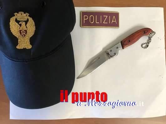 Diverbio per un parcheggio e spunta un coltello, denunciato un 42enne